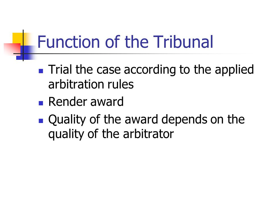 Composition of the Tribunal Sole arbitrator tribunal Two arbitrators tribunal Three arbitrators tribunal Nationality requirement in international arbitration