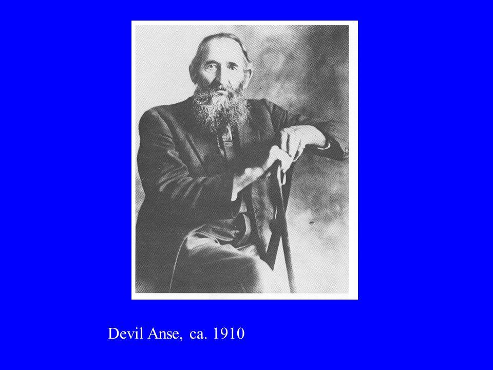 Devil Anse, ca. 1910