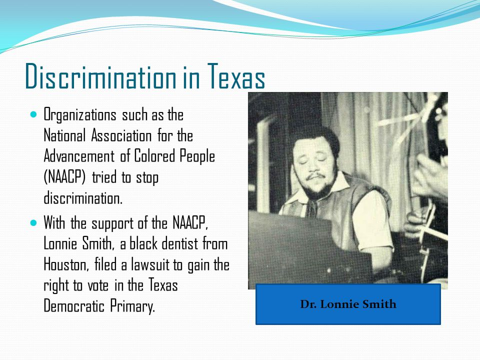 New Opportunities for Women Texas women also fought for recognition of their civil rights in the 1950s.