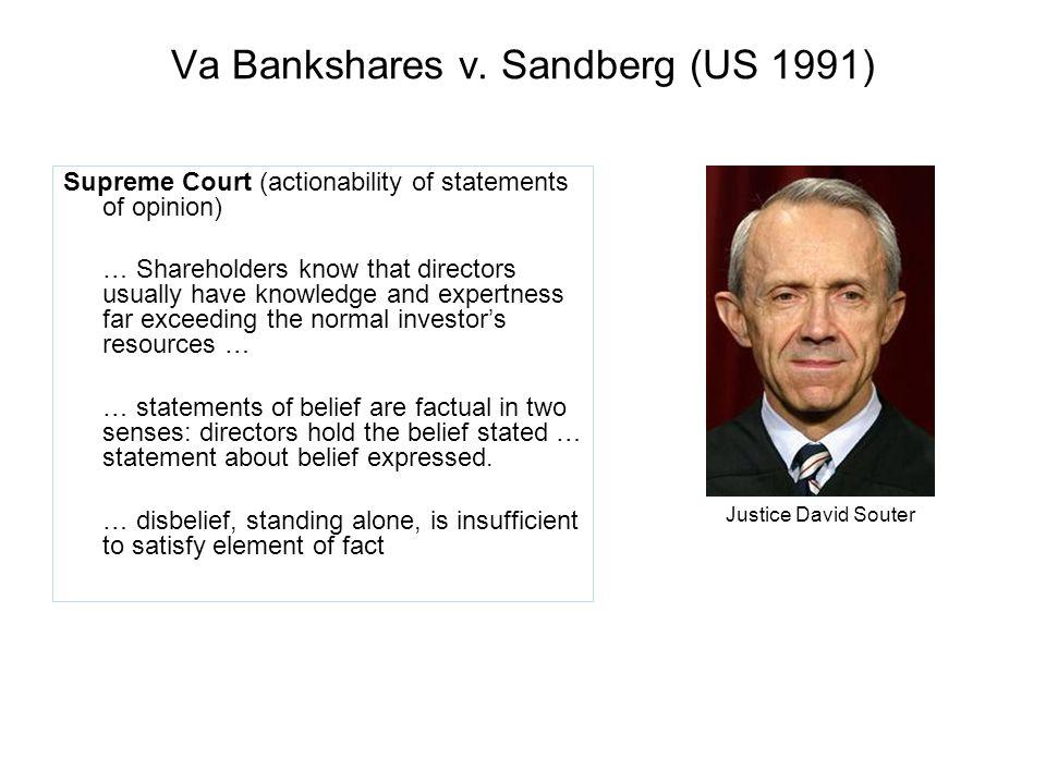 Va Bankshares v.