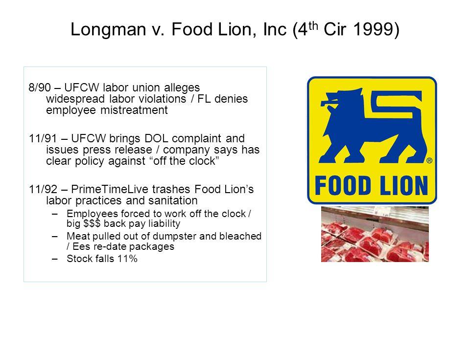 Longman v.