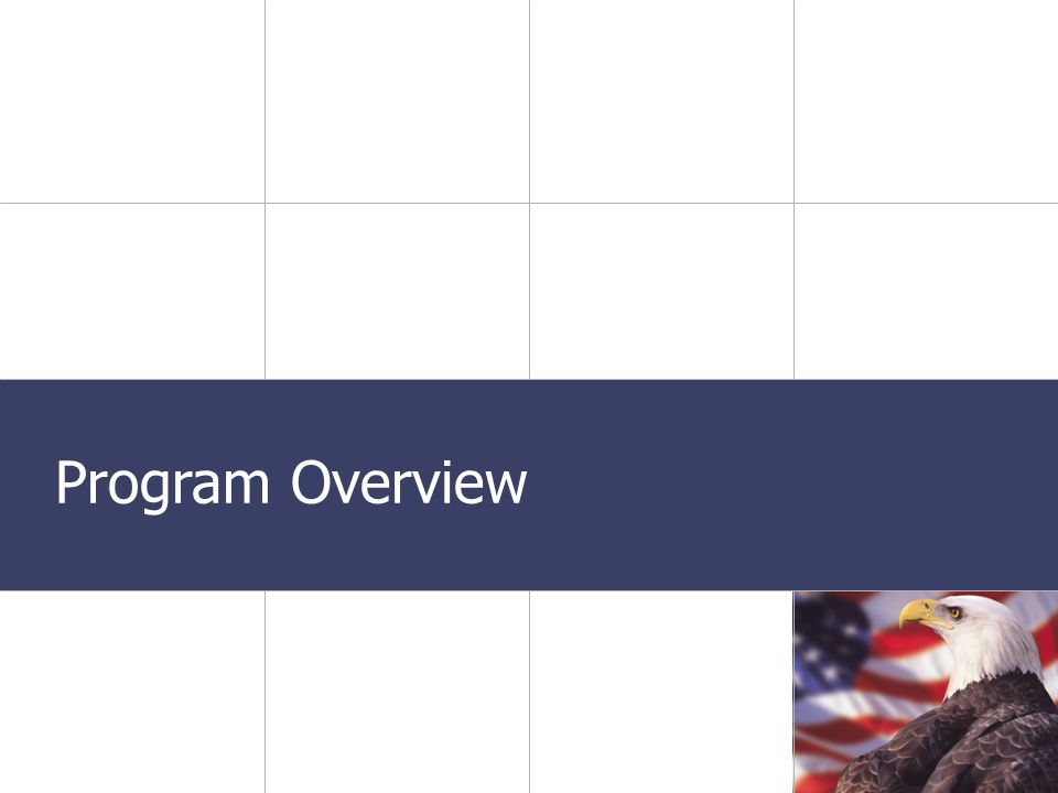 Transportation Presentation Date Program Overview