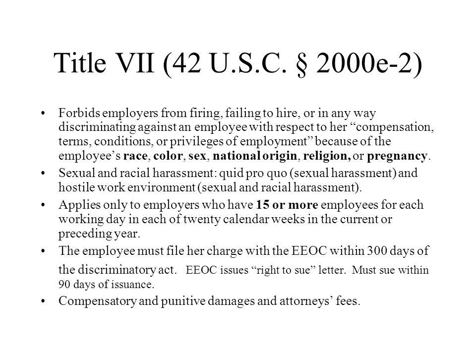 Title VII (42 U.S.C.