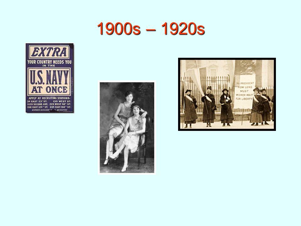 1900s – 1920s