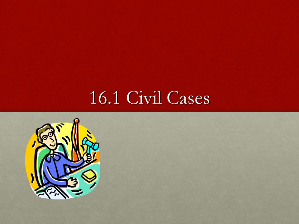 Trial In a civil case the plaintiff has to present only a preponderance of evidence enough to persuade the judge or jury the defendant was responsible for the incident In a civil case the plaintiff has to present only a preponderance of evidence enough to persuade the judge or jury the defendant was responsible for the incident
