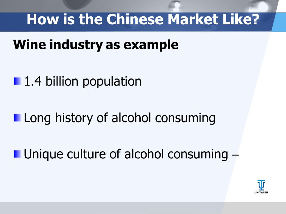 How is the Chinese Market Like.