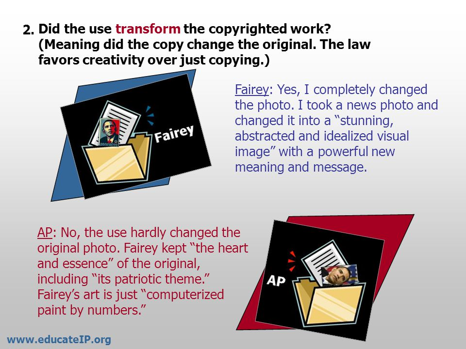 Was the copying done for commercial purposes.(Meaning to make money.