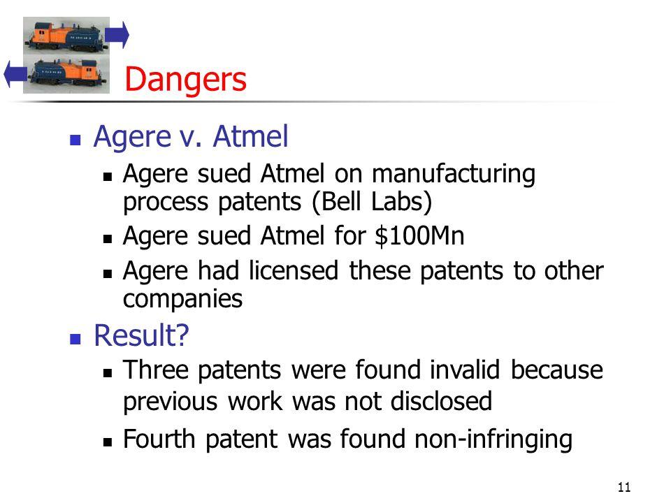 11 Dangers Agere v.
