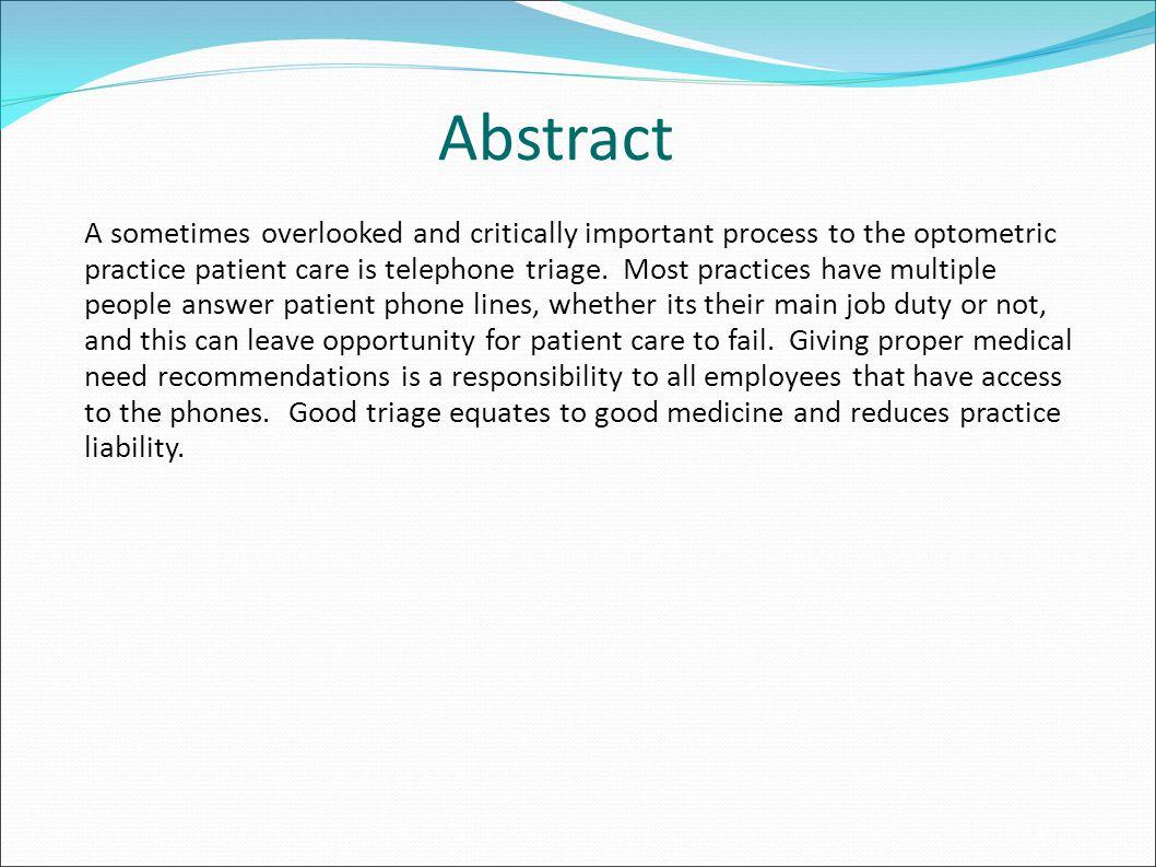 Triage Equals Good Medicine Caring Triage Urgency Chart Triage Questions Documentation GOOD MEDICINE!