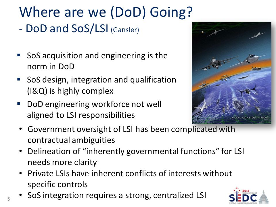 Where are we (DoD) Going.