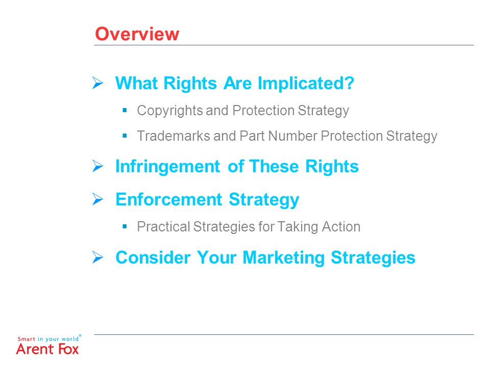 Overview  What Rights Are Implicated.