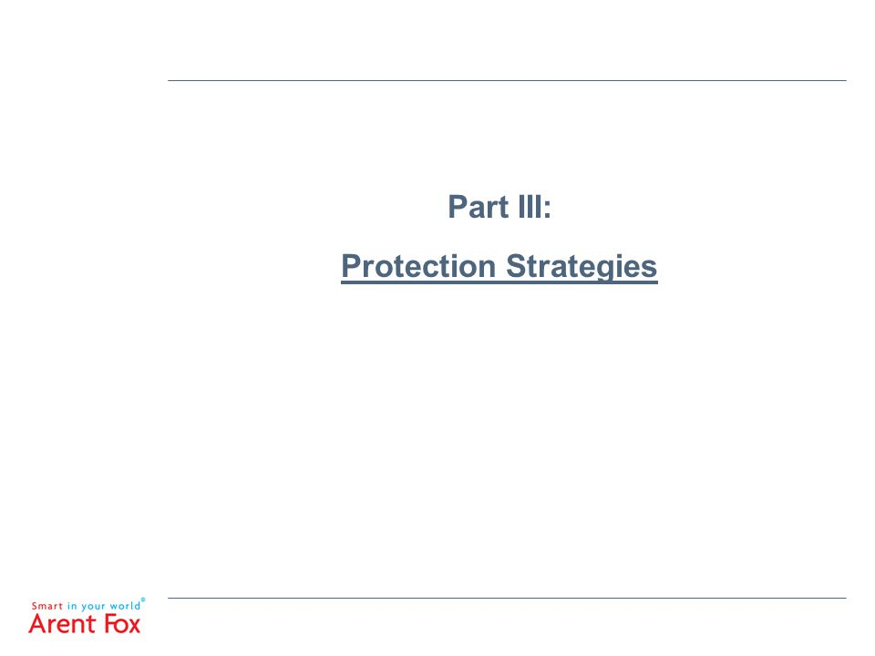 Part III: Protection Strategies