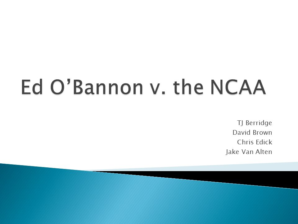  Many analysts believe that some sort of change has to occur in the NCAA's current model of doing business.