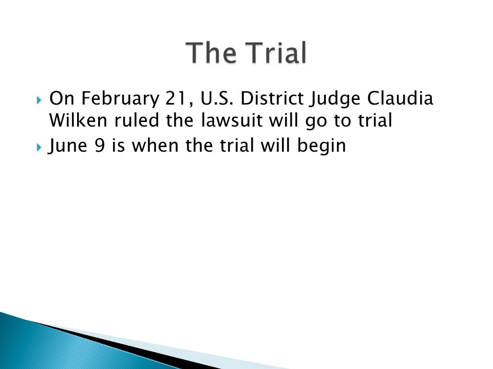  On February 21, U.S.