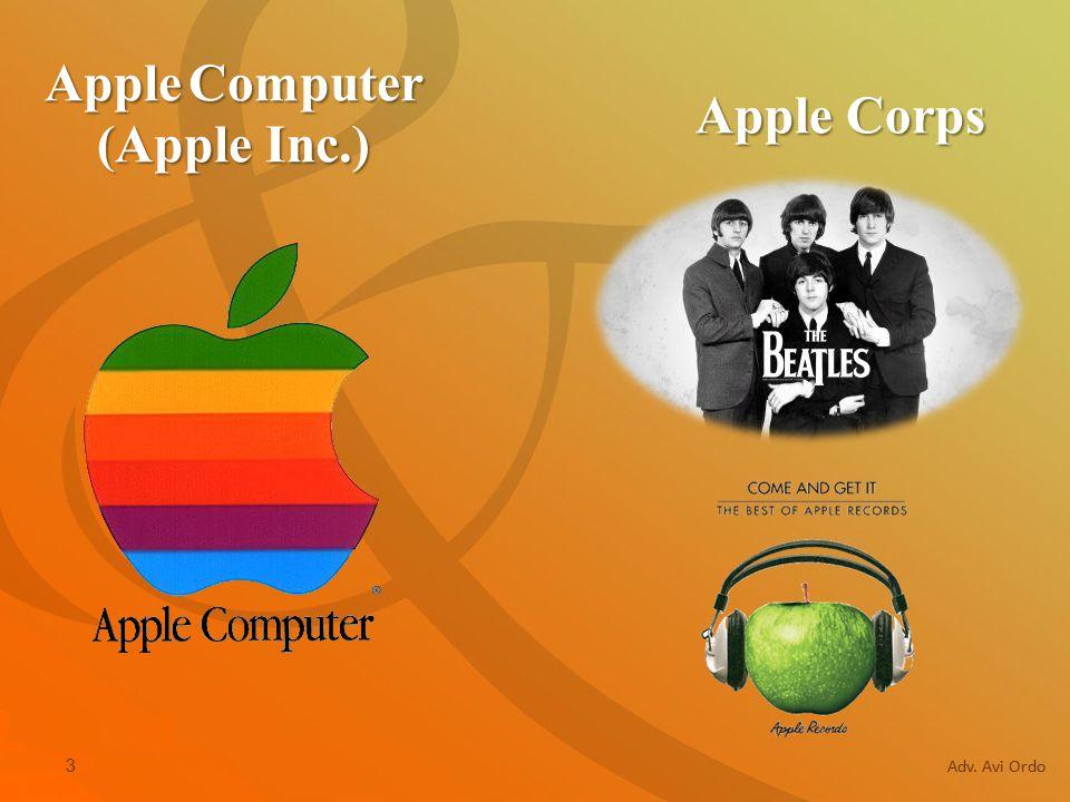 3 Adv. Avi Ordo Apple Corps Apple Computer (Apple Inc.)