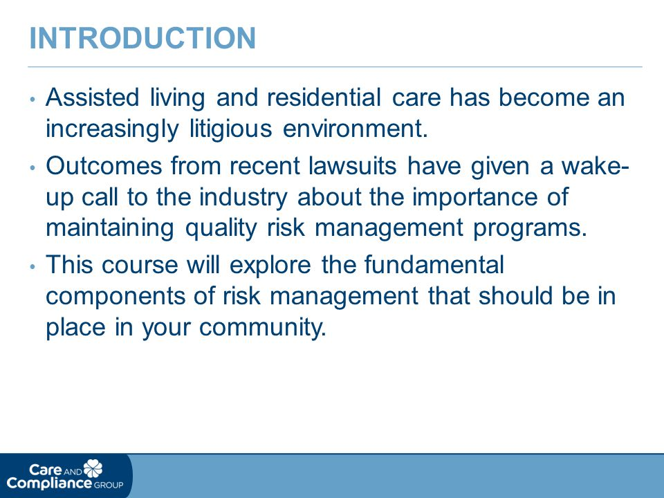 Why do resident families sue.a. To lose b. To make a point c.