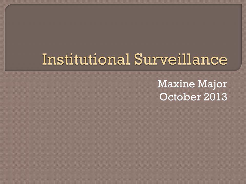 Maxine Major October 2013