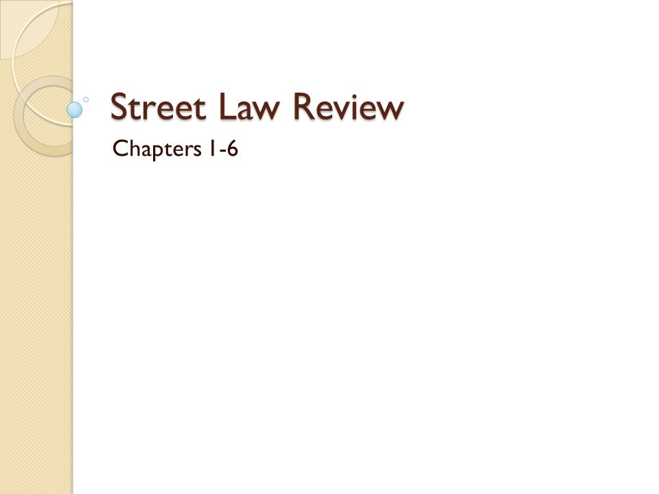 The study of law.