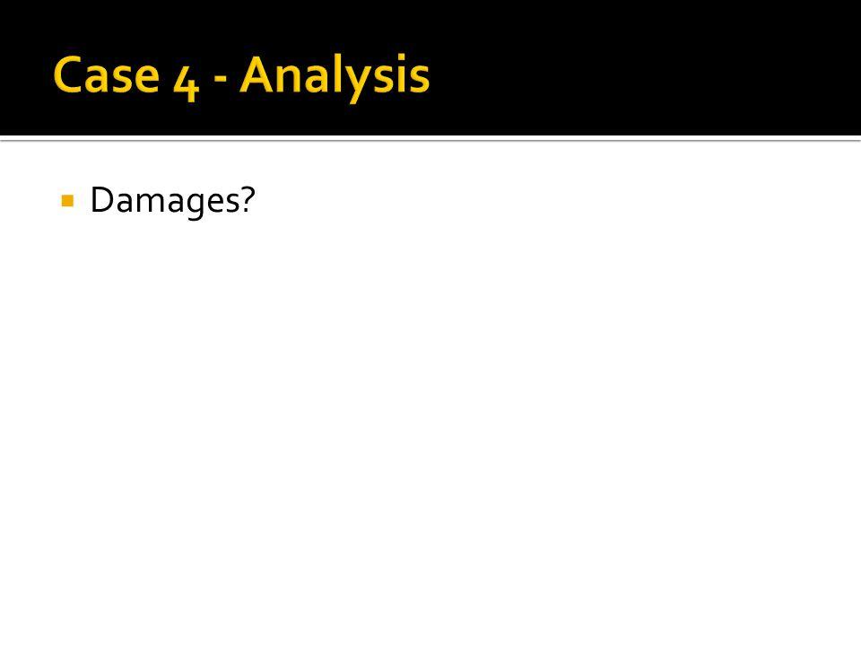  Damages?