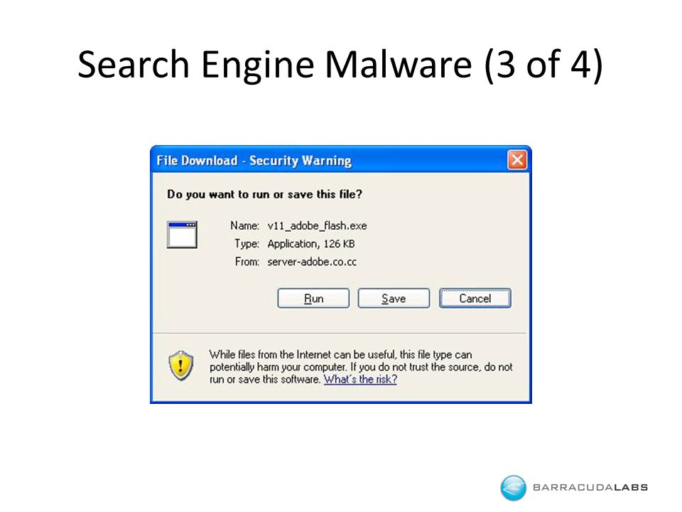 Search Engine Malware (3 of 4)