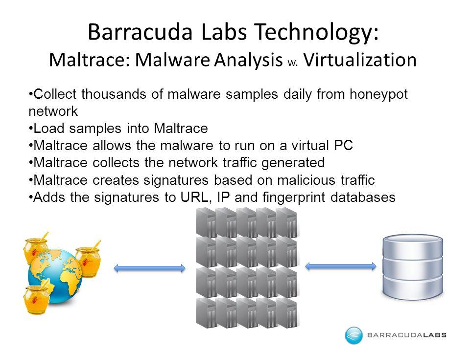 Barracuda Labs Technology: Maltrace: Malware Analysis w.