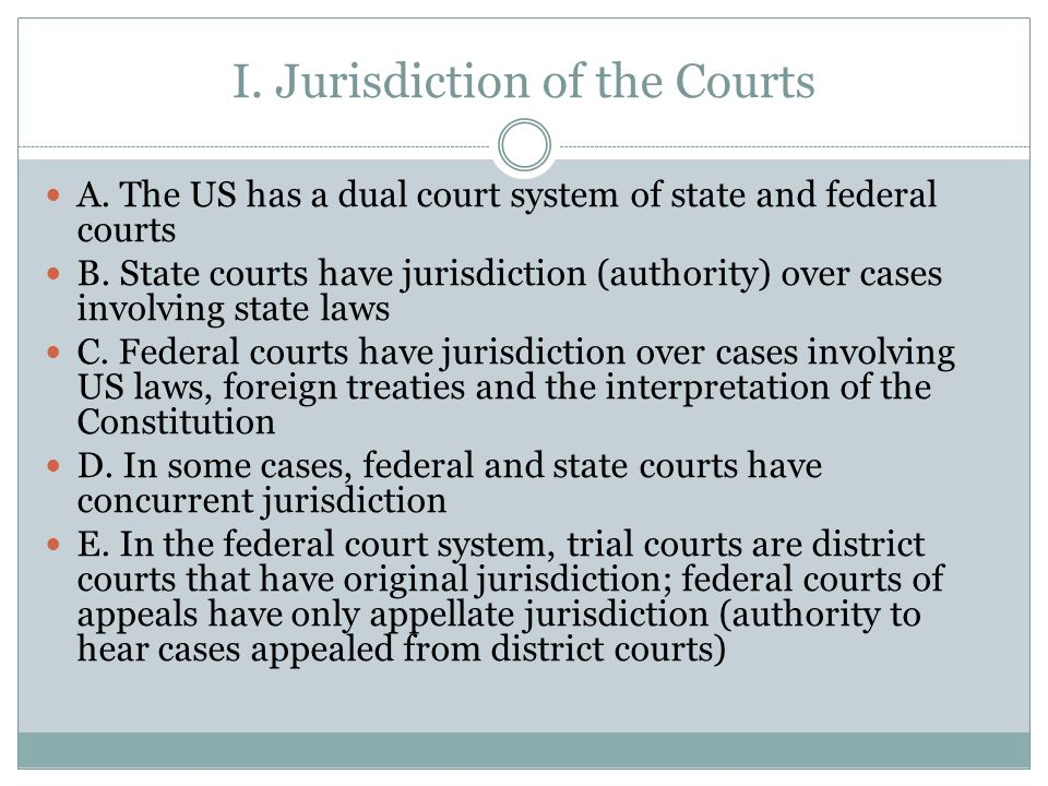 Structure of Federal Courts