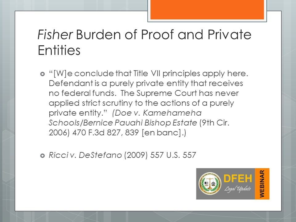  [W]e conclude that Title VII principles apply here.