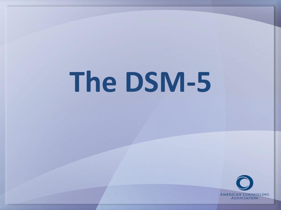 The DSM-5