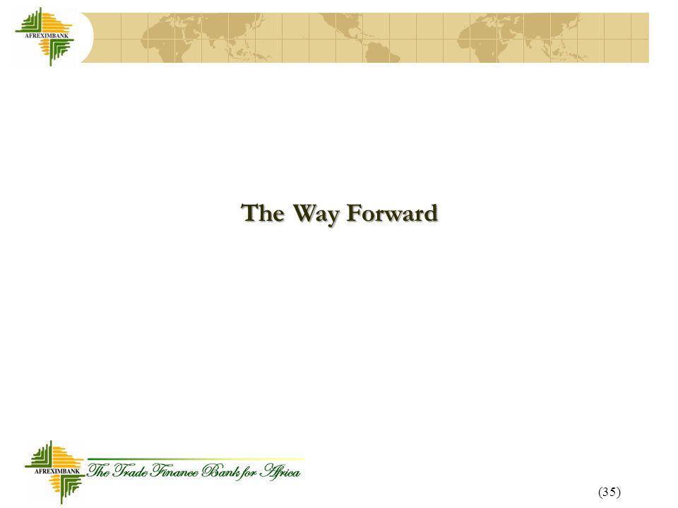 (35) The Way Forward