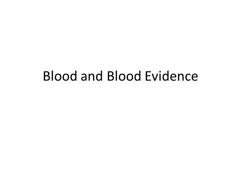 SEROLOGY Serology- the study of blood – 1901- Karl Landsteiner discovers ABo blood groups.