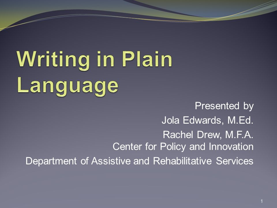 Presented by Jola Edwards, M.Ed. Rachel Drew, M.F.A.