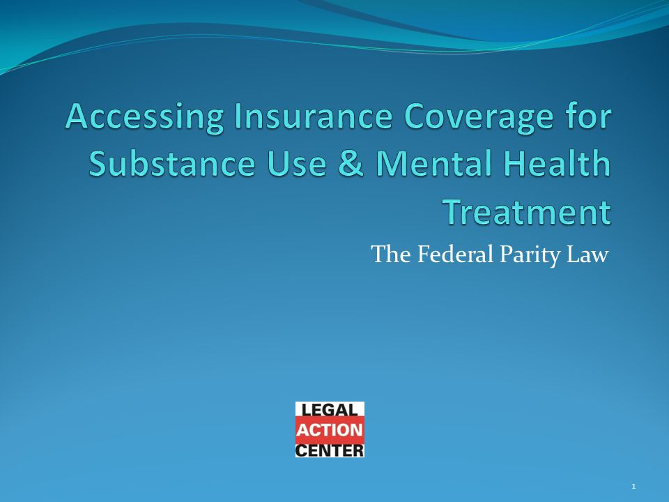 The Federal Parity Law 1