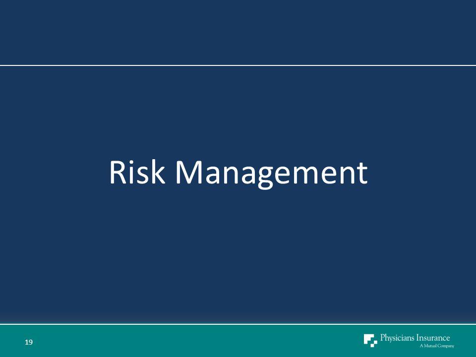 Risk Management 19
