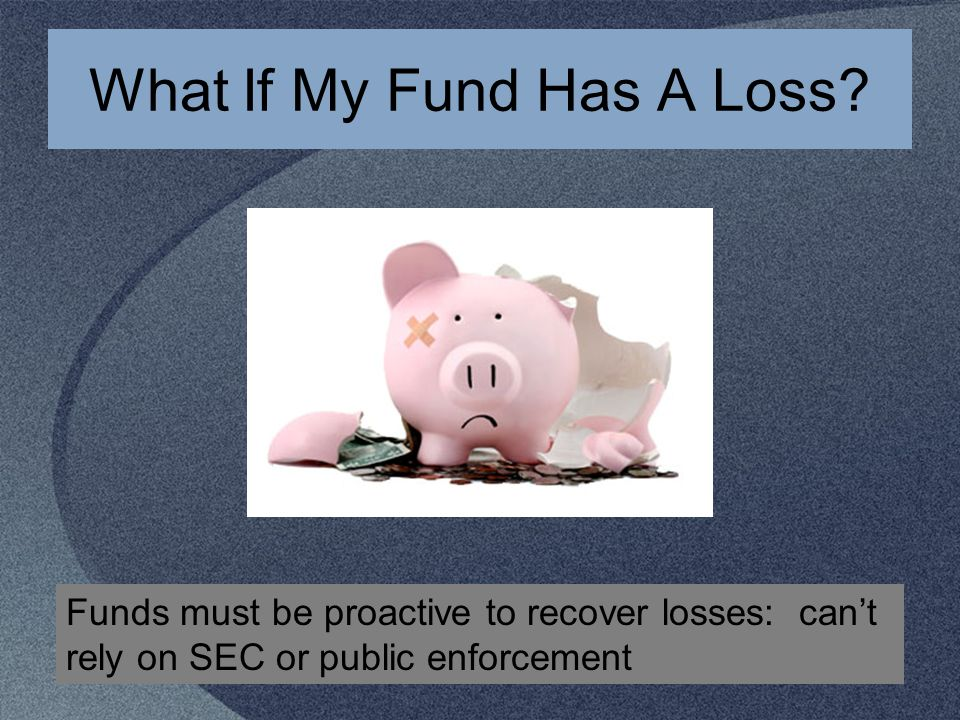 What If My Fund Has A Loss.