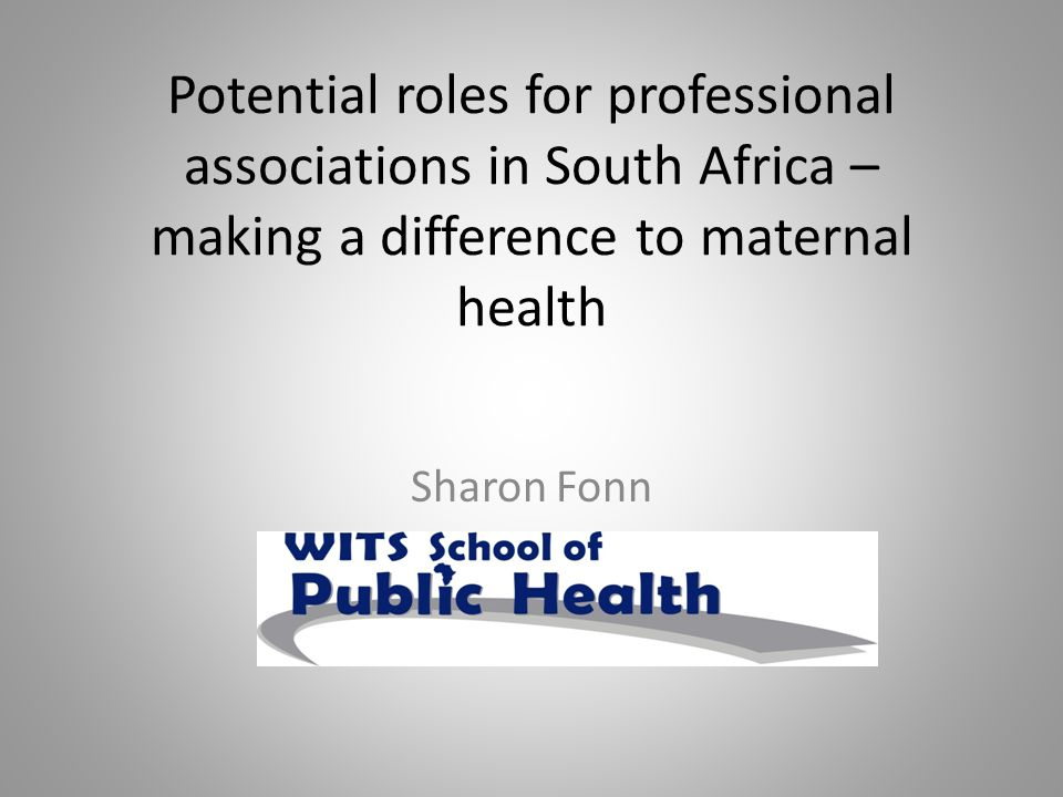 Raise the status, maintain the integrity, support and promote the interests of the midwife Develop and promote an adequate, efficient and effective midwifery service in South Africa Consider every matter in connection with or with reference to midwifery and act as an advisory body Bring about liaison and cooperation with other groups and health care providers associated with midwifery Encourage the establishment of local groups in order to promote the aims and goals of the Society Promote research in midwifery Promote liaison with midwifery groups internationally