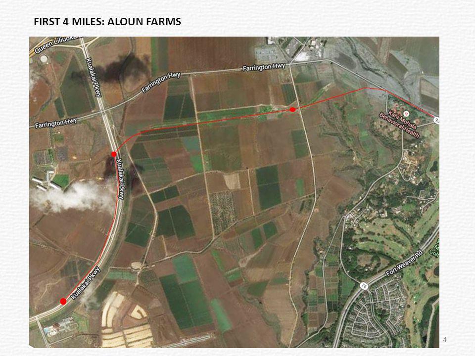 FIRST 4 MILES: ALOUN FARMS 4
