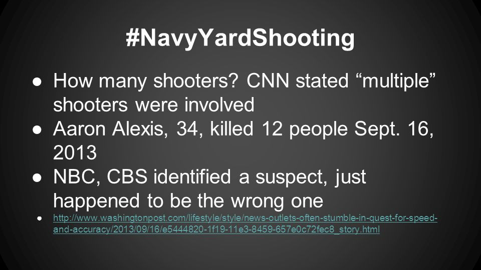 #NavyYardShooting ●How many shooters.