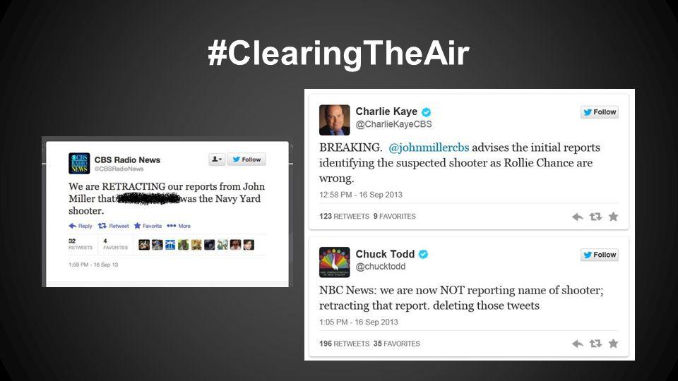 #ClearingTheAir