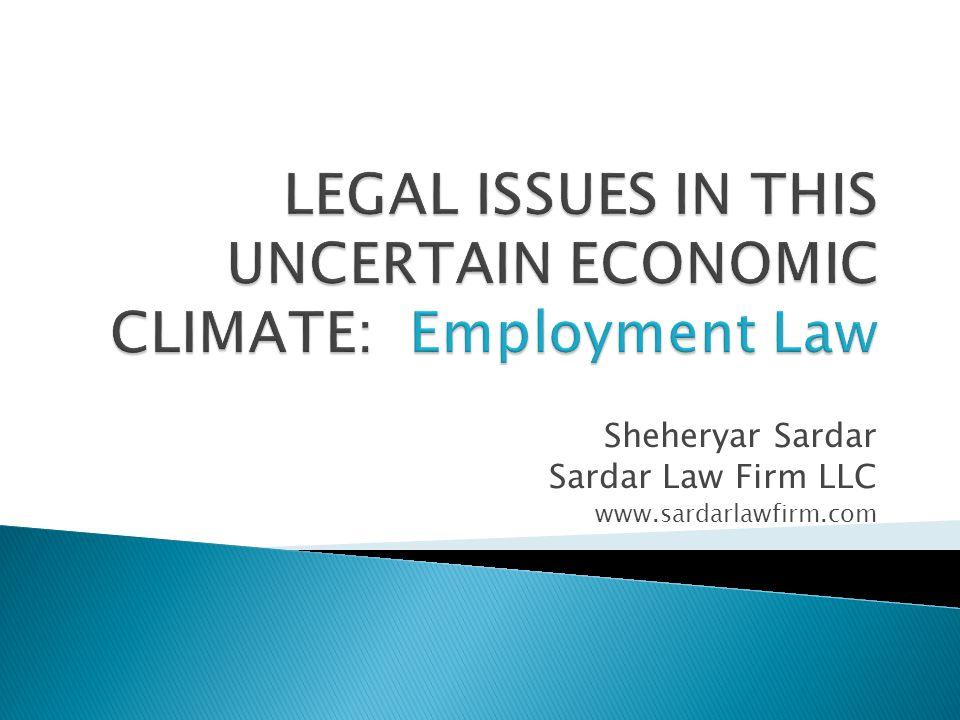 Sheheryar Sardar Sardar Law Firm LLC www.sardarlawfirm.com