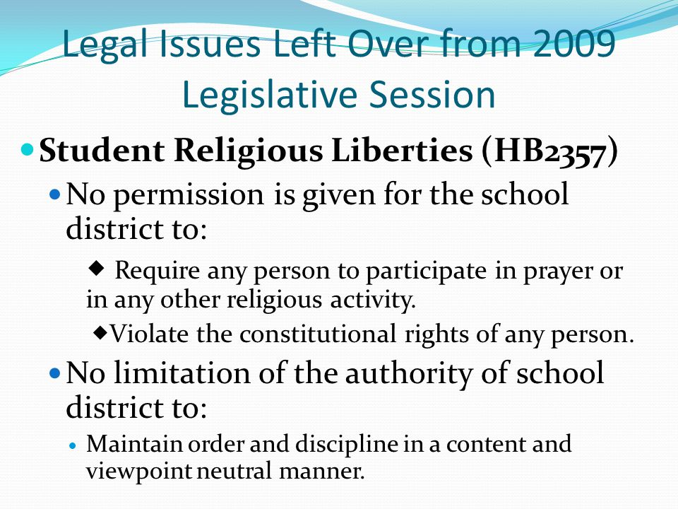 Legislative Process/Separation of Powers Brewer v.