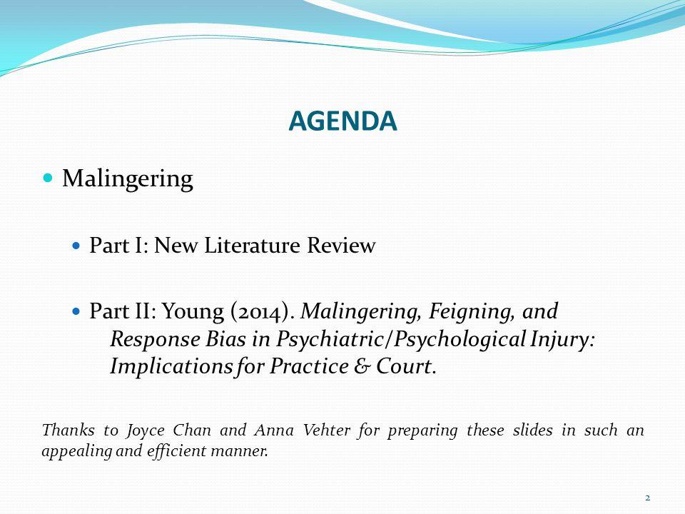 References Heilbronner, R.L., & Henry, G. K. (2013).
