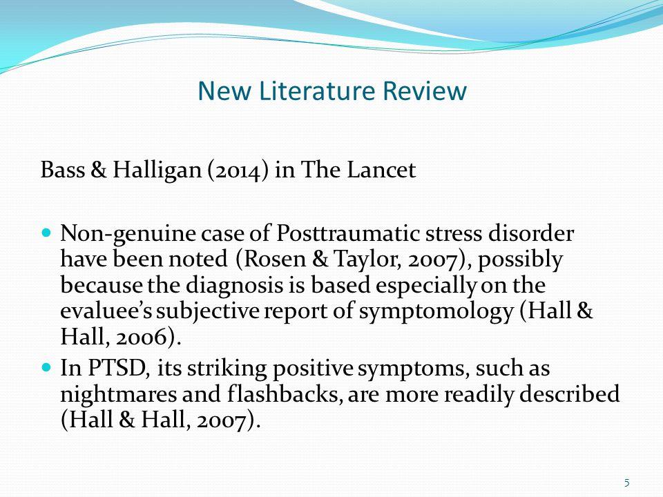 New Literature Review Sleep, Petty, & Wygant (2015) Wygant et al.
