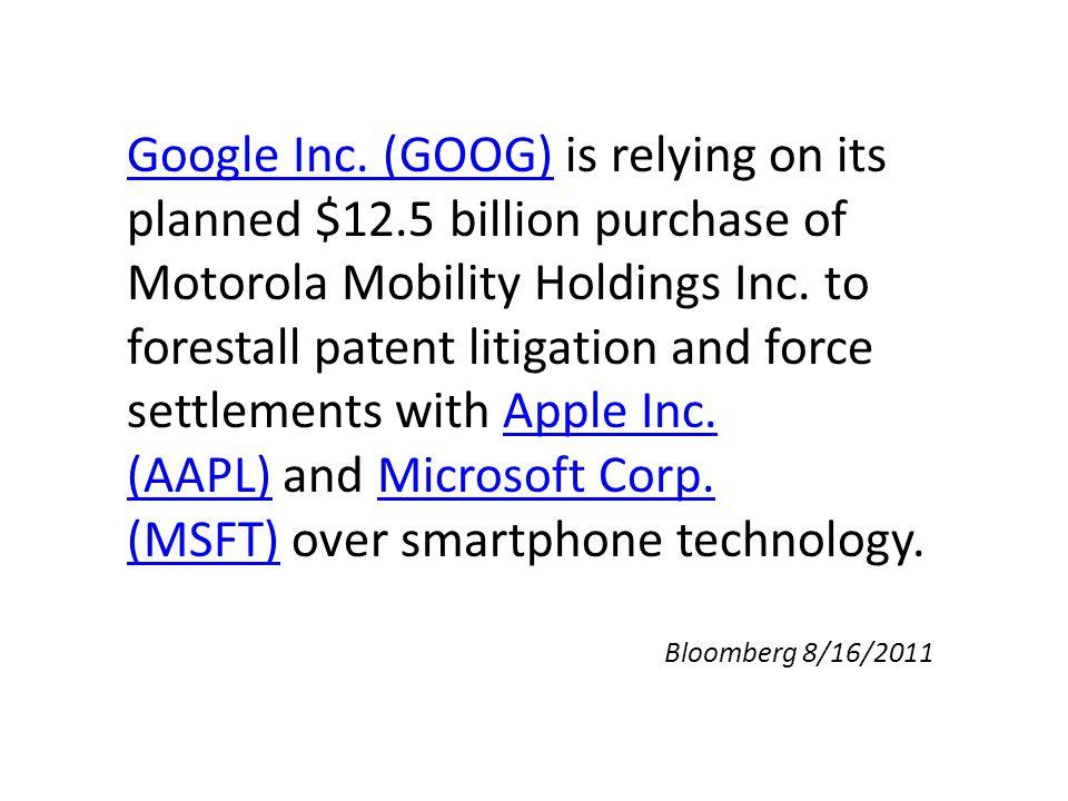 Google Inc. (GOOG)Google Inc.