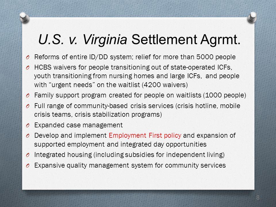 8 U.S. v. Virginia Settlement Agrmt.