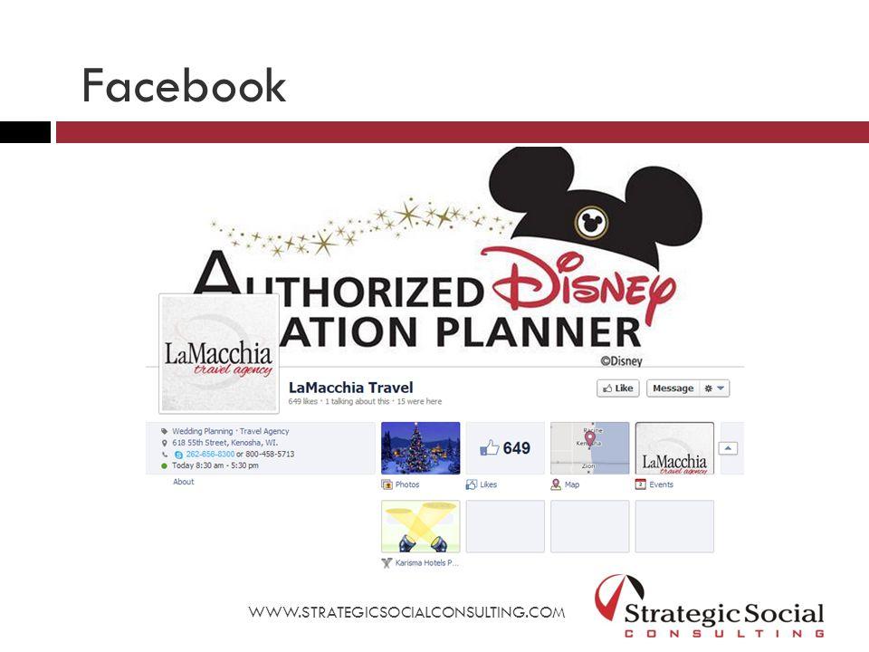 WWW.STRATEGICSOCIALCONSULTING.COM Facebook