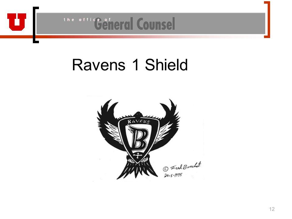 Ravens 1 Shield 12