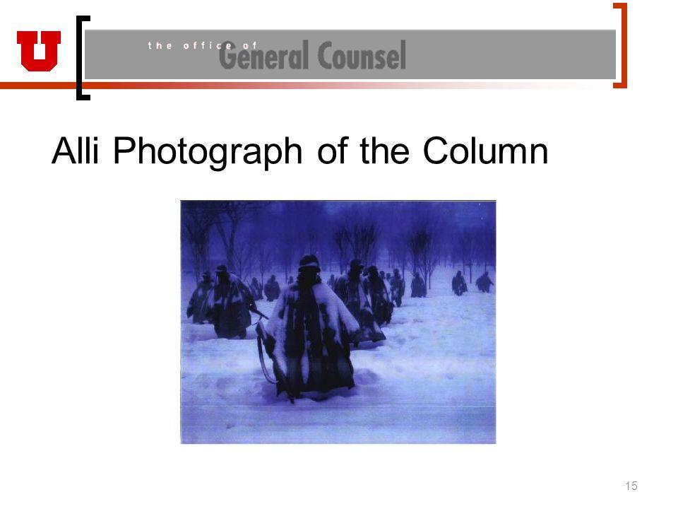 Alli Photograph of the Column 15