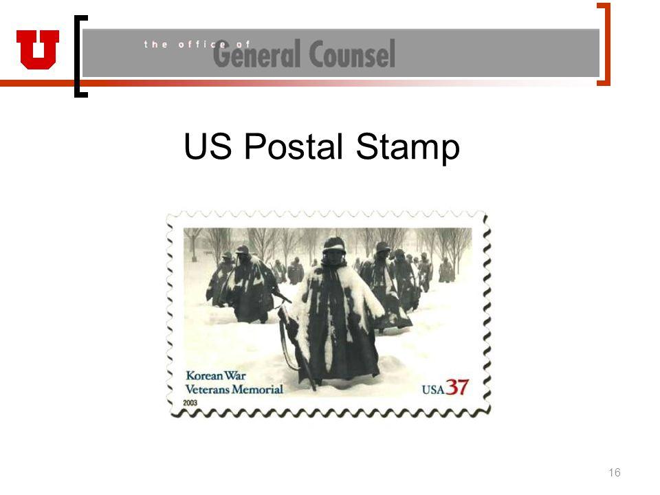 US Postal Stamp 16