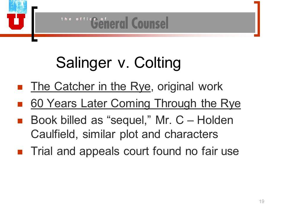 Salinger v.
