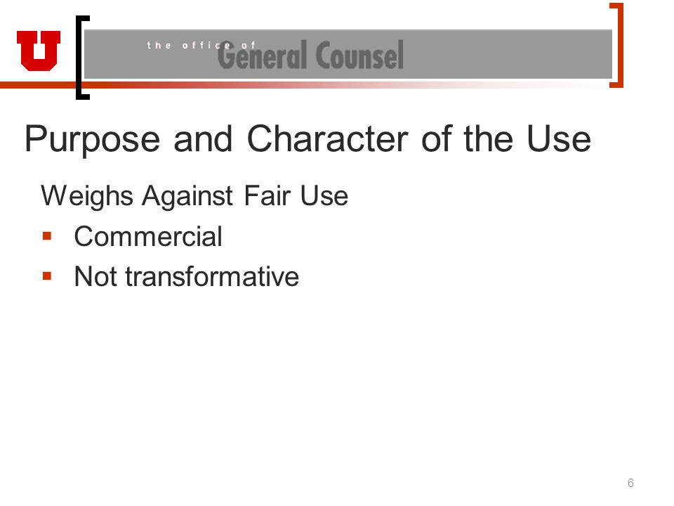 Georgia State E-Reserves Cambridge and Oxford Presses filed suit alleging use of electronic systems to reproduce and distribute excerpts from copyrighted works to students – injunctive relief New Georgia State copyright policy 2009 – instructor must complete Fair Use Checklist; if conclude is fair use, can use e-reserve.